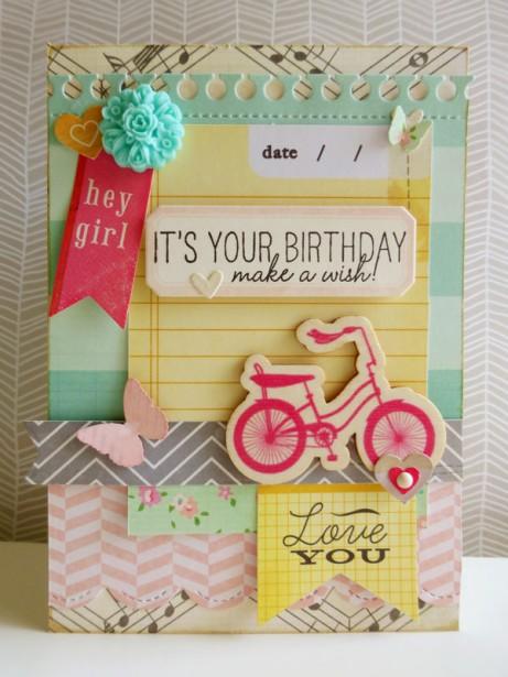 Crate Paper - Oh Darling card