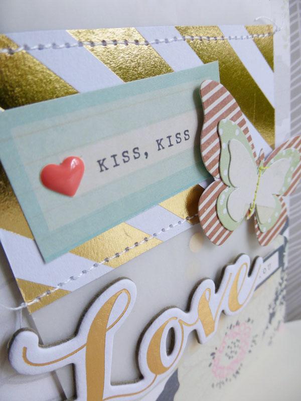 Kiss, kiss - detail
