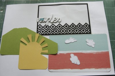 Layers for the Cover of Mini Book