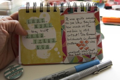 Journalling Cards as Pages
