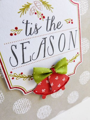 Tis the Season card - detail