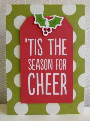 Tis the Season for Cheer card