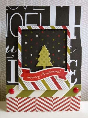 Simple Stories DIY Christmas - Christmas tree scene