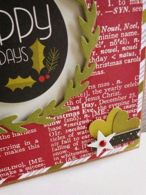 Simple Stories DIY Christmas - Happy Holidays - detail