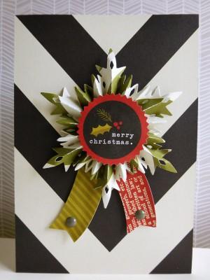 Simple Stories DIY Christmas - Snowflake rosette