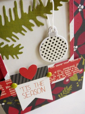 Simple Stories DIY Christmas - 'Tis the Season - detail