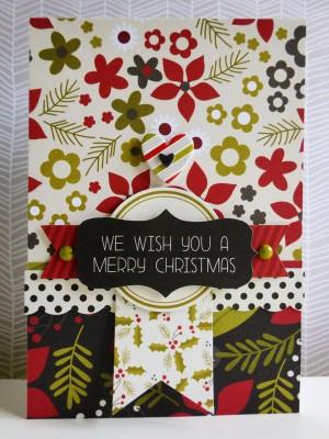 Simple Stories DIY Christmas - We wish you a merry Christmas