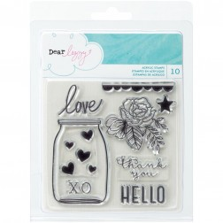 Dear Lizzy Serendipity Clear Stamp Set