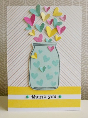 Dear Lizzy - Serendipity - Jar of heartfelt thanks