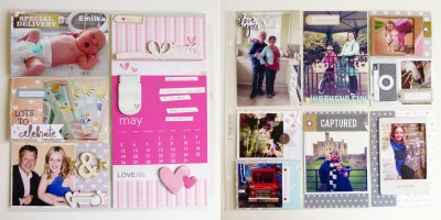 May 2014 - double page