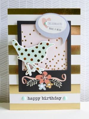 Celebrate, make a wish card