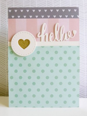 Jen Hadfield Cottage Living - Hello card