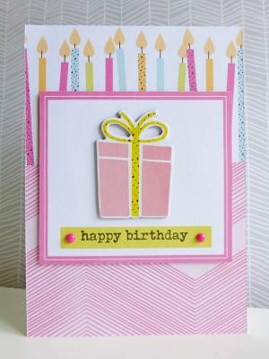 Dear Lizzy - Fine and Dandy - Happy birthday card