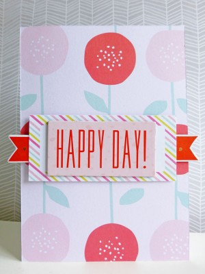 Dear Lizzy - Fine and Dandy - Happy day card