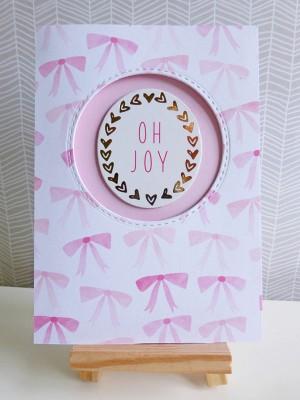 Dear Lizzy - Fine and Dandy - Oh joy card