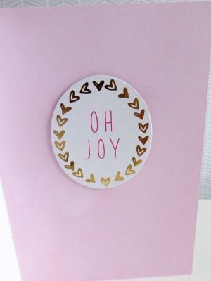 Dear Lizzy - Fine and Dandy - Oh joy card - detail 1