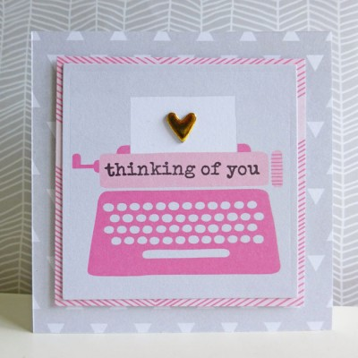 Dear Lizzy - Fine and Dandy - Thinking of you notelet