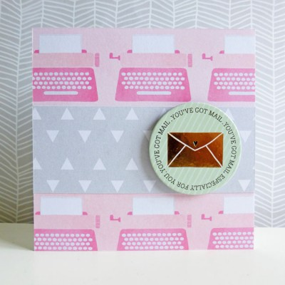 Dear Lizzy - Fine and Dandy - You've got mail notelet