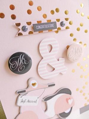My Mind's Eye - Fancy That - Wedding card 1 - detail