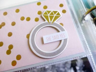 My Mind's Eye - Fancy That - Wedding gift album - detail 10