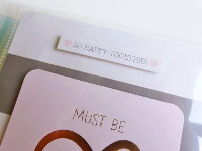 My Mind's Eye - Fancy That - Wedding gift album - detail 13