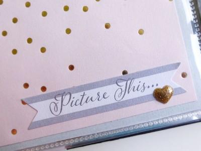 My Mind's Eye - Fancy That - Wedding gift album - detail 4