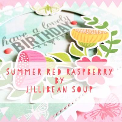 Jillibean Soup Summer Red Raspberry