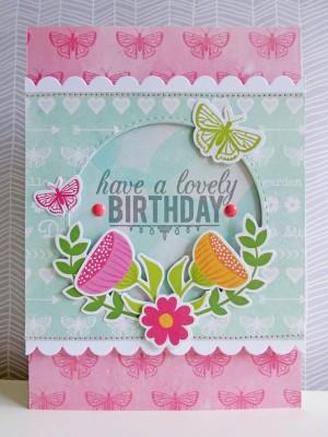 Jillibean Soup Summer Red Raspberry - Lovely Birthday card