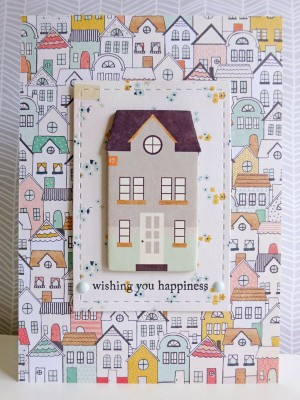 Crate Paper Wonder - New Home card