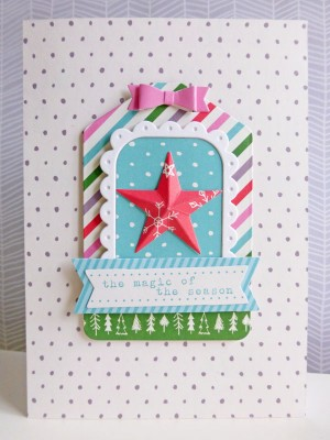 Elle's Studio - Joyful - Magic of the season card