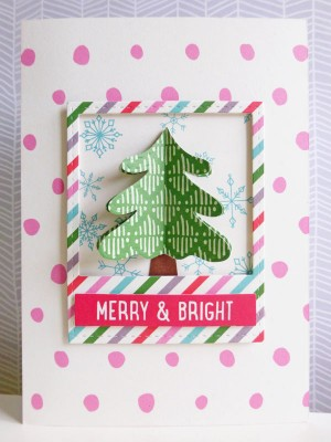 Elle's Studio - Joyful - Merry & Bright card