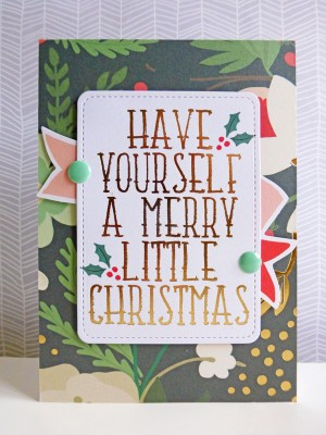 My Mind's Eye - Christmas on Market Street - Have Yourself a Merry Little Christmas card