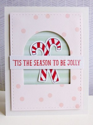 My Mind's Eye - 'Tis the Season to Be Jolly card