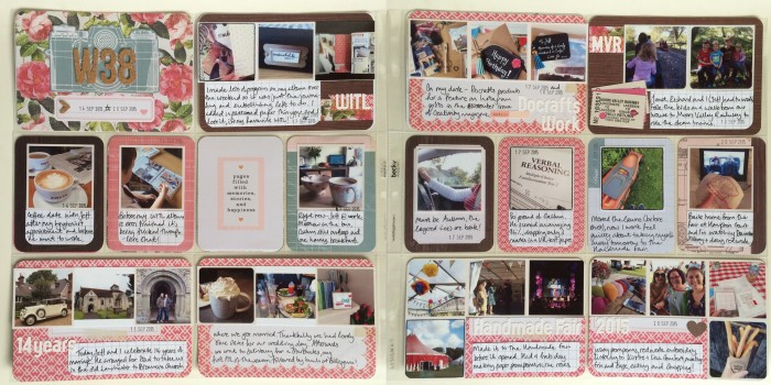 Project Life Week 38 Spread