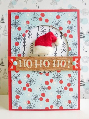 Basic Grey - Juniper Berry - Ho Ho Ho card