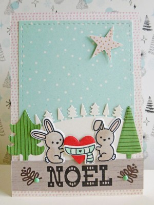 Basic Grey - Juniper Berry - Noel card