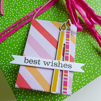 Tag set - best wishes