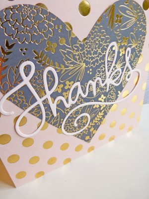 MME On Trend 2 - Thanks card - detail 1