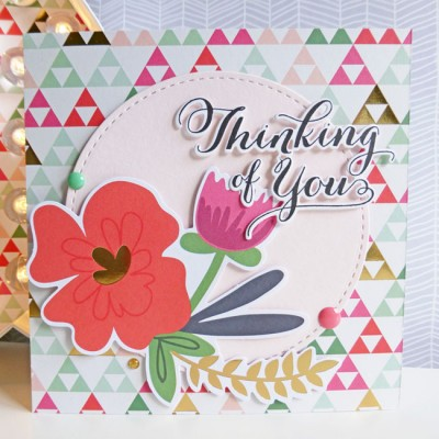 MME On Trend 2 - Thinking of You card
