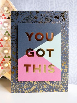 MME On Trend 2 - You Got This card