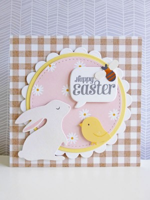 Pebbles - Spring Fling - Happy Easter card