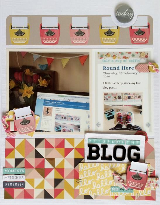 Return of the blog