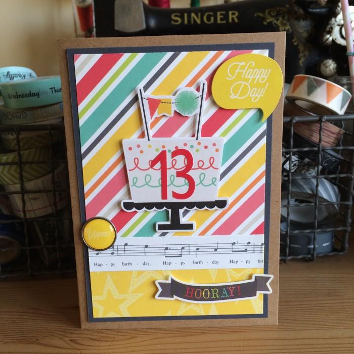 13! card