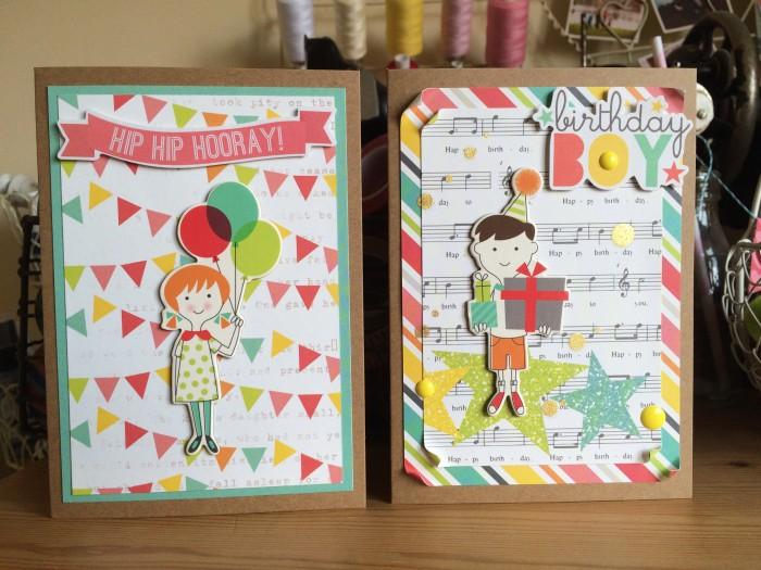 Birthday Girl & Birthday Boy cards
