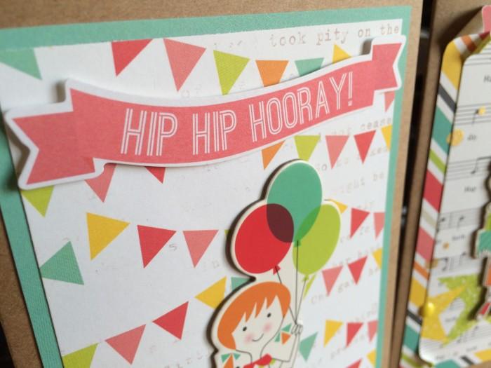 Birthday Girl card crop