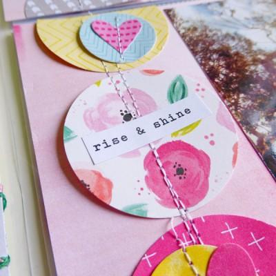 Pink Paislee - Fancy Free - June PL spread - detail 2