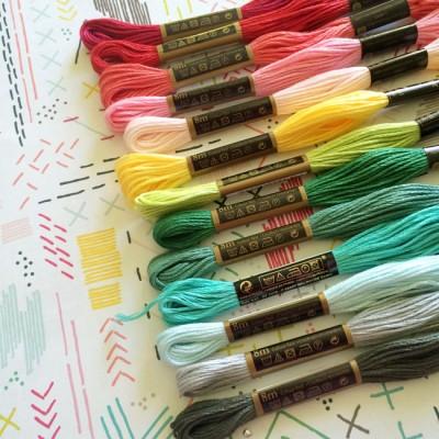 Pink Paislee - Fancy Free - sewing prep