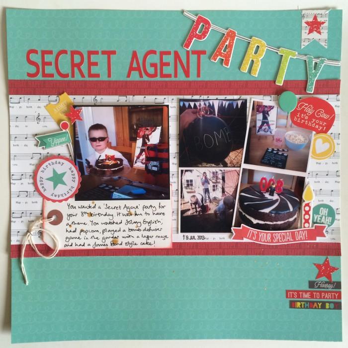 Secret Agent Party