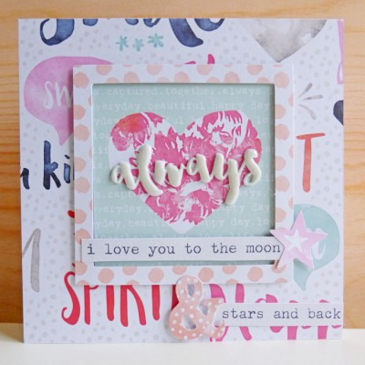 Cocoa Vanilla Studio - Free Spirit - Always card