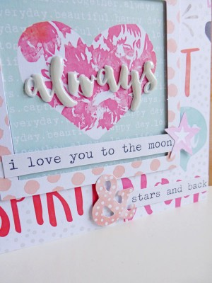 Cocoa Vanilla Studio - Free Spirit - Always card - detail